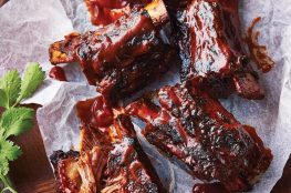Barbecued Chipotle Beef Ribs