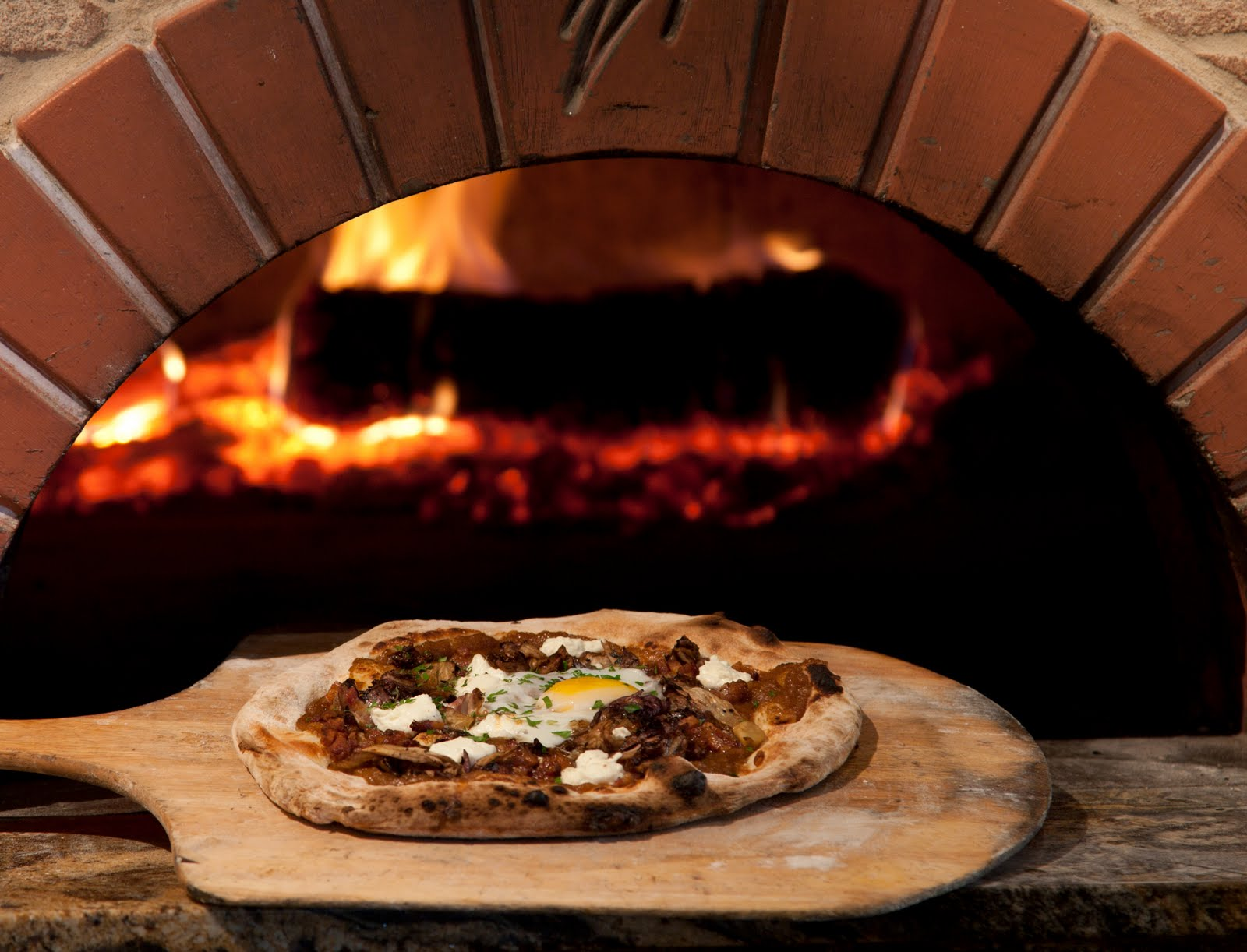 Pizza - Wood Oven