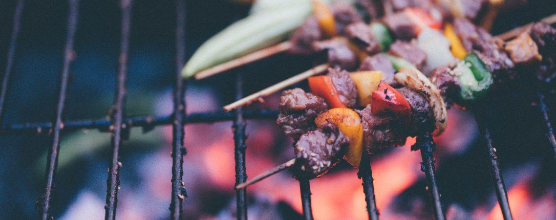 chimichurri beef skewers