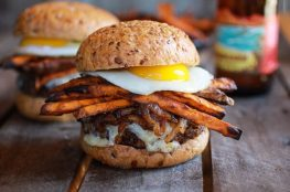 Sweet potato burger