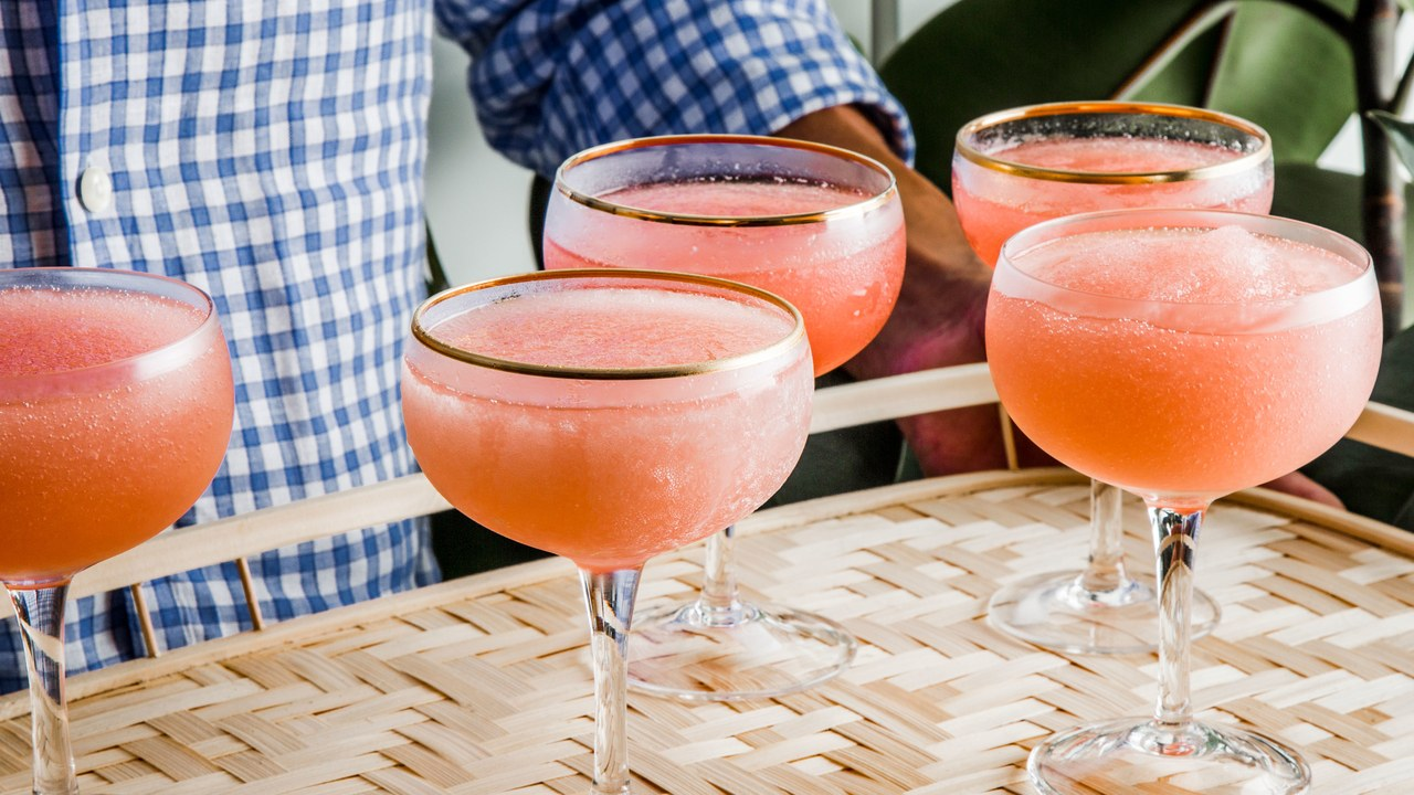 Frosé is the perfect addition to a summer BBQ