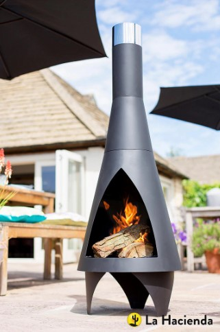 stylish outdoor heater