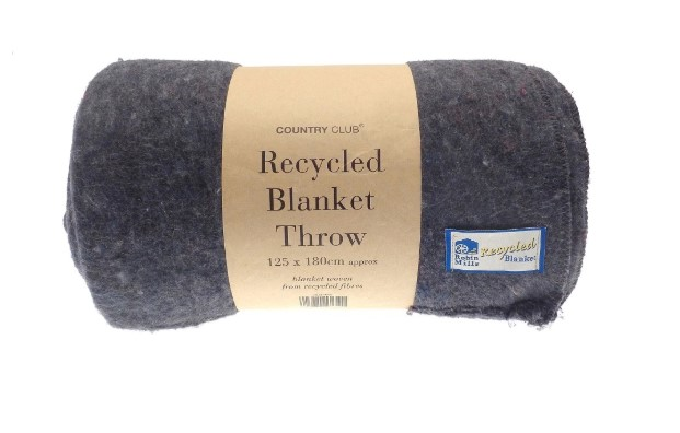 Cosy eco friendly blanket