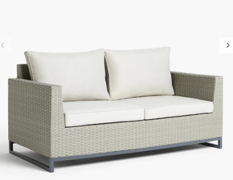 warm and cosy outdoor couch