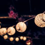Pretty outdoor lighting decor