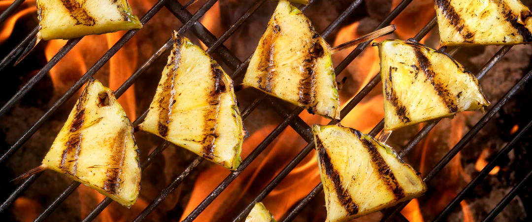 fruit on the bbq