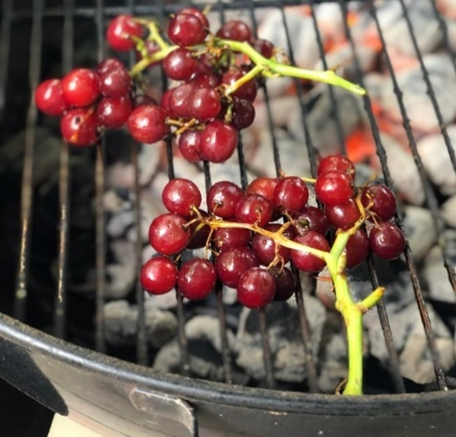 Fruits & veg to barbecue grapes