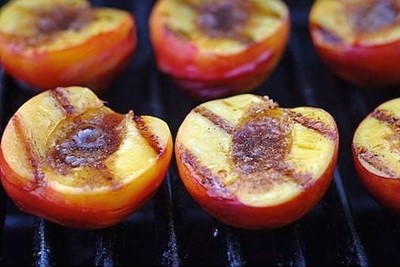 Fruits & veg to barbecue peaches