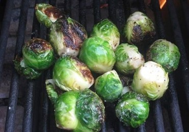 Fruits & veg to barbecue Brussell sprouts